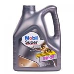 Моторное масло Mobil Super 3000 X1 Formula FE, 5W-30, 4л