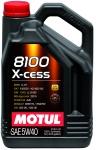 Моторное масло MOTUL 8100 X-CESS, 5W-40, 5 л, 102870