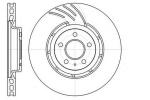 Диск тормозной, передний, REMSA, 6111110