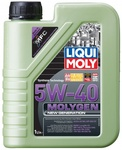 LiquiMoly 5W40 Molygen New Generation (1L) масло моторное !синт.\ API SN/CF, ACEA A3/B4 LIQUI MOLY 9