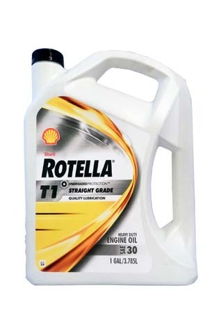Моторное масло SHELL Rotella T1 30 (3,785л)