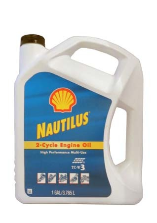 Моторное масло для 2-Такт лод.мот. SHELL Nautilus 2-Cycle Engine Oil High Perfomance Multi-Use (3,78