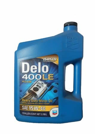 Моторное масло CHEVRON Delo 400 LE SAE 15W-40 (3,785л)