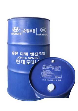 Моторное масло HYUNDAI Premium LS Diesel SAE 5W-30 CH-4 (200л)
