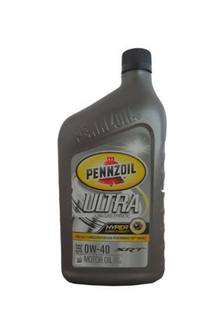 Моторное масло PENNZOIL Ultra SAE 0W-40 (0,946л)**