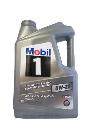 Моторное масло MOBIL 1 SAE 5W-20 (4,83л)