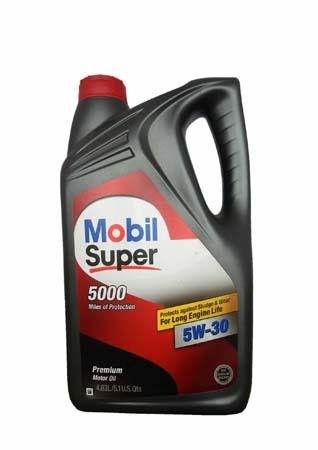 Моторное масло MOBIL Super 5000 SAE 5W-30 (4,83л)