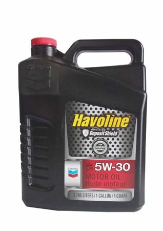 Моторное масло CHEVRON Havoline Motor Oil SAE 5W-30 (3,785л)