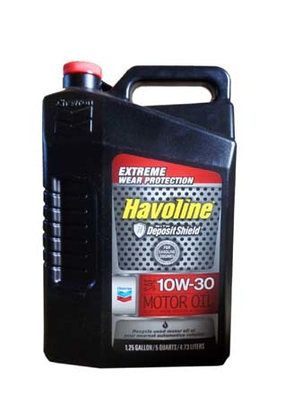 Моторное масло CHEVRON Havoline Motor Oil SAE 10W-30 (4.73л)