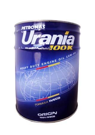 Моторное масло URANIA 100 К SAE 10W-40 (20л)