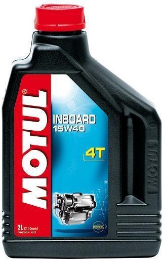 Масло моторное MOTUL Inboard 4T, 15W-40, 2л, 101736