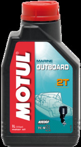 Моторное масло MOTUL OUTBOARD 2 T, 1 л, 102788
