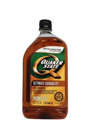 Моторное масло QUAKER STATE Ultimate Durability SAE 0W-20 (0,946л)**