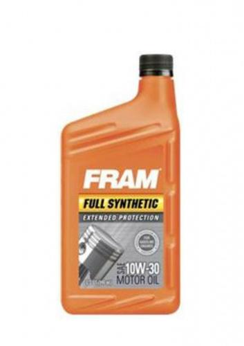 Моторное масло FRAM Full Synthetic SAE 10W-30 (0,946л)