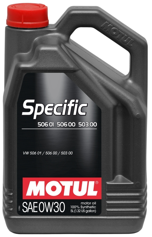 Моторное масло MOTUL Specific VW 506.01-506.00-503.00, 0W-30, 5л, 101171