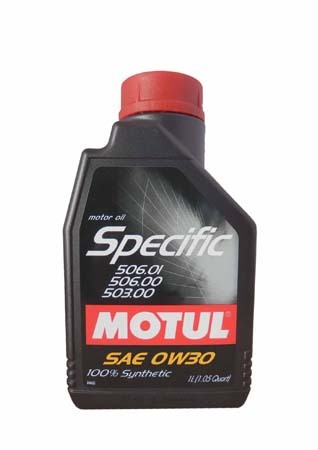 Моторное масло MOTUL Specific VW 506.01-506.00-503.00, 0W-30, 1л, 101169