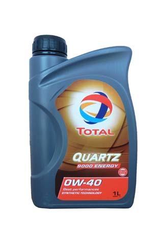 Моторное масло TOTAL QUARTZ 9000 ENERGY, 0W-40, 1л, 195282