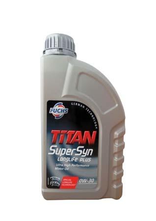 Моторное масло FUCHS Titan SuperSyn Longlife Plus SAE 0W-30 (1л)