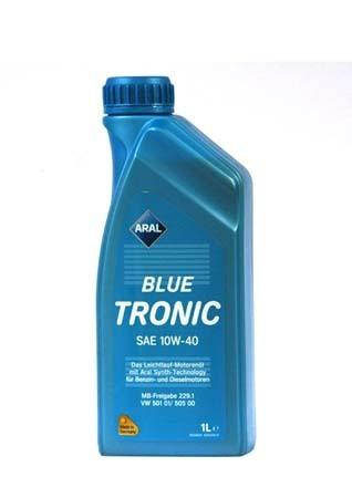 Моторное масло ARAL BlueTronic SAE 10W-40 (1л)