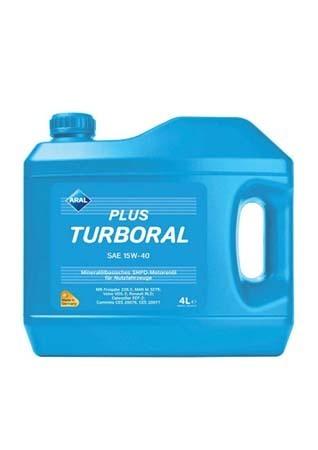 Моторное масло ARAL Plus Turboral SAE 15W-40 (4л)