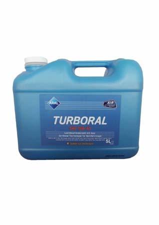 Моторное масло ARAL Turboral SAE 10W-40 (5л)