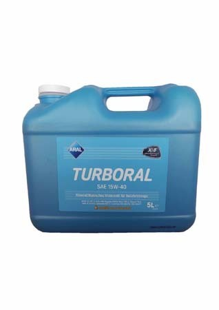 Моторное масло ARAL Turboral SAE 15W-40 (5л)
