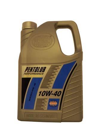 Моторное масло PENTOSIN Pentolub Perfomance SAE 10W-40 (5л)