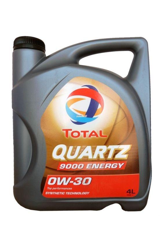 Моторное масло TOTAL QUARTZ 9000 ENERGY, 0W-30, 4л, 151523