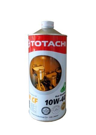 Моторное масло TOTACHI Eco Gasoline Semi-Synthetic SM/CF SAE 10W-40 (1л)