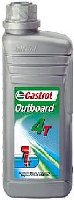 Моторное масло CASTROL OUTBOARD 4T, 10W-30, 1л, 4566530060