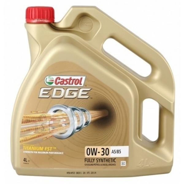 Моторное масло CASTROL EDGE Titanium FST, 0W-30, 4л, 4659330090