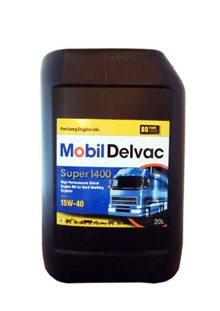 Моторное масло MOBIL Delvac Super 1400 SAE 15W-40 (20л)