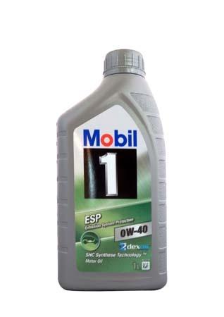 Моторное масло Mobil 1 ESP, 0W-40, 1л