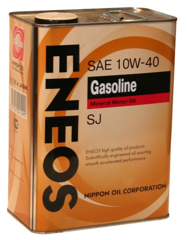 Моторное масло ENEOS SUPER GASOLINE SL, 10W-40, 4л, 8801252021964