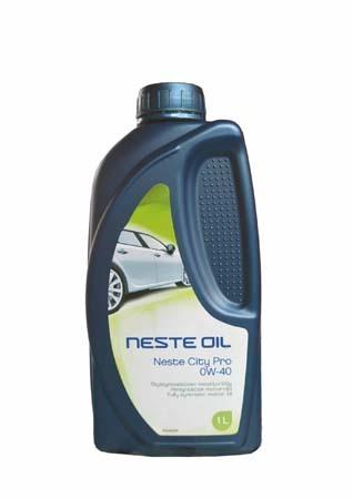 Моторное масло NESTE City Pro SAE 0W-40 (1л)