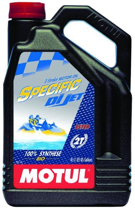 Масло моторное MOTUL Specific DI Jet 2T, 4л, 101237