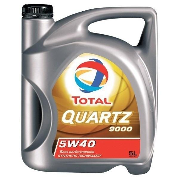 Моторное масло TOTAL QUARTZ 9000, 5W-40, 5л, 148650