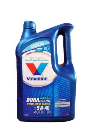 Моторное масло VALVOLINE Durablend Diesel SAE 5W-40 (5л)
