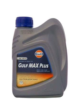 Моторное масло GULF Max Plus SAE 10W-40 (1л)