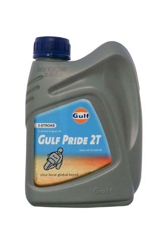 Моторное масло для 2-Такт двигателей GULF Pride 2T (1л)