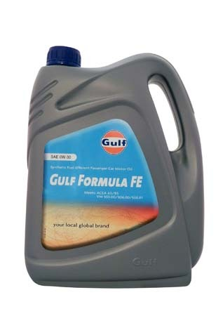 Моторное масло GULF Formula FE SAE 0W-30 (4л)