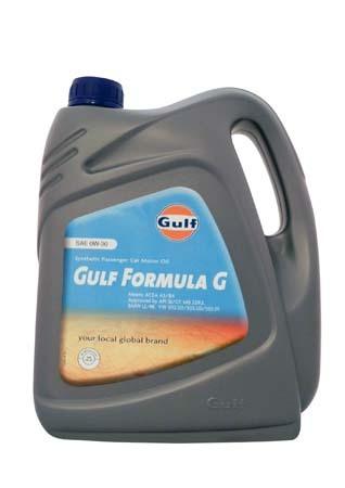Моторное масло GULF Formula G SAE 0W-30 (4л)