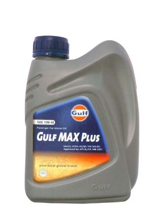 Моторное масло GULF Max Plus SAE 15W-40 (1л)