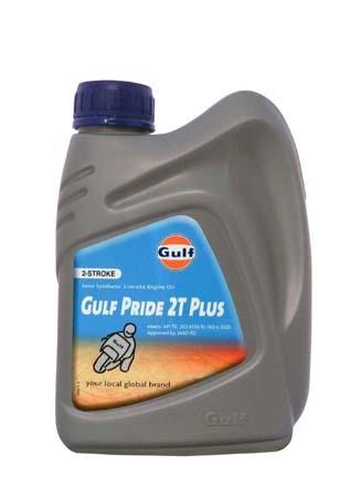Моторное масло для 2-Такт двигателей GULF Pride 2T Plus (1л)