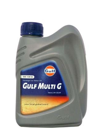 Моторное масло GULF Multi G SAE 15W-40 (1л)