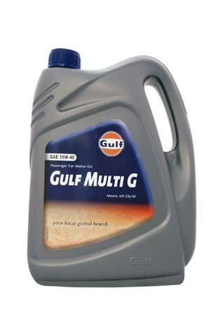 Моторное масло GULF Multi G SAE 15W-40 (4л)