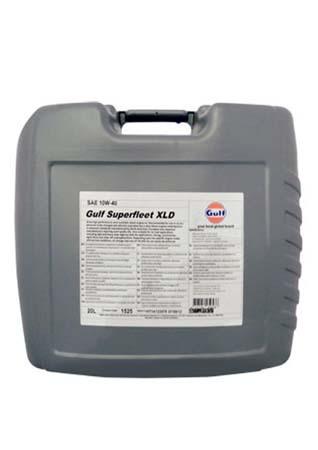 Моторное масло GULF Superfleet XLD SAE 10W-40 (20л)