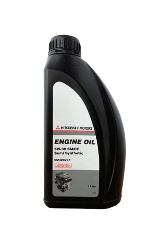 Масло моторное Engine Oil Semi-Synthetic SM/CF 5W-30 1л