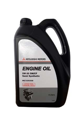 Масло моторное Engine Oil Semi-Synthetic SM/CF 5W-30 4л