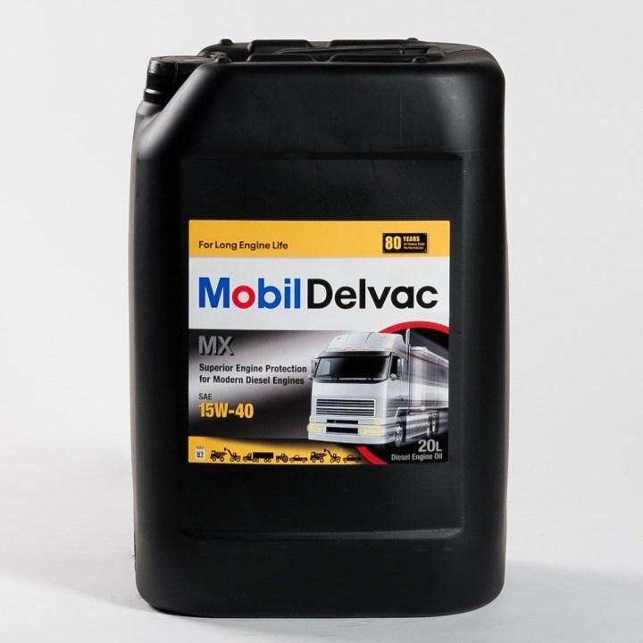 Моторное масло Mobil DELVAC MX, 15W-40, 20л